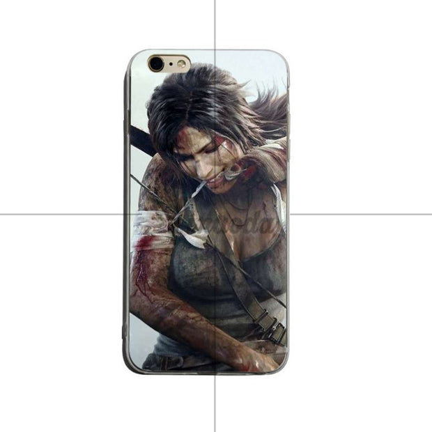 Yinuoda Tomb Raider Wallpaper Transparent Soft Silicone