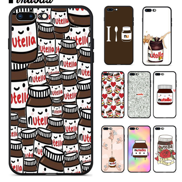 Cute Tumblr Nutella Pattern iPhone 11 case
