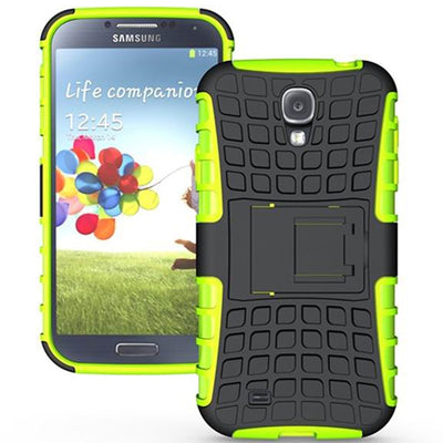 For Galaxy S4 Case Rugged Silicone Armor Hybrid Dual Layer Shockproof Hard Cover Case For Samsung Galaxy S4 I9500 I337 Case