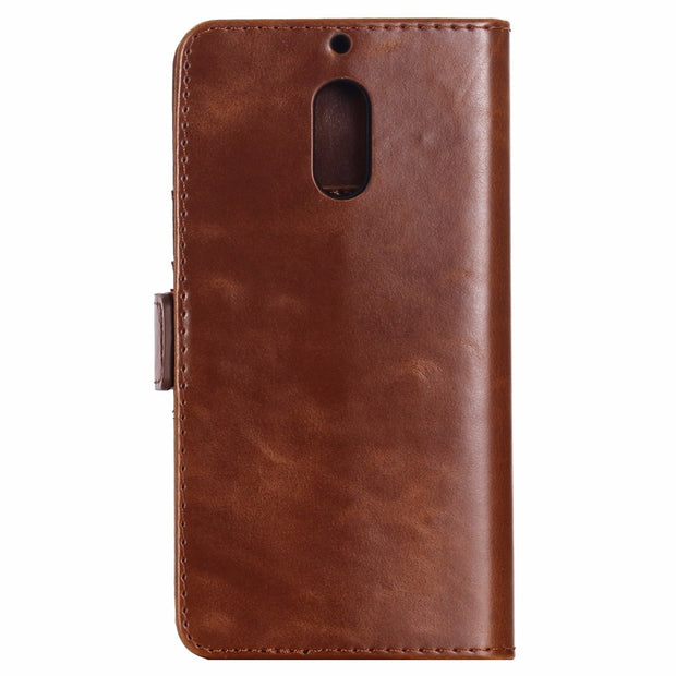For Microsoft Nokia 3 5 6 Nokia3 Nokia5 Nokia6 Luxury Coque PU Leather Flip Phone Case Wallet Card Pocket Slots Funda Cover Case
