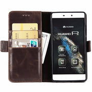 For Huawei P8 P8lite P8 P9 Lite 2017 GR3 2017 Honor 8 Lite Luxury Coque PU Leather Flip Phone Case Wallet Card Pocket Slot Funda