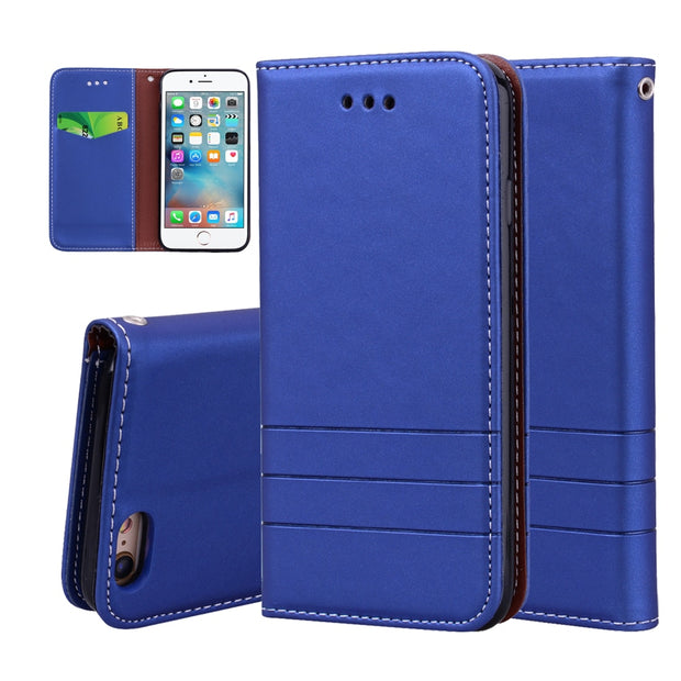 For IPhone 6 6s Cases Flip Leather Cover For IPhone 6 6S Wallet Case Magnetic Cases For IPhone 6 6s Phone Stander Housing