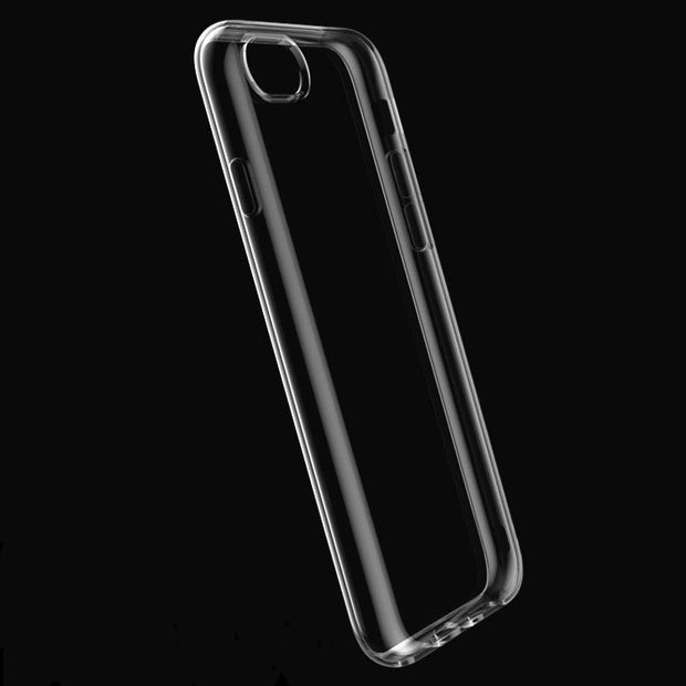 For IPhone 7/ 7plus 6 6s Plus Ultra Slim Crystal Clear Anti-Scratch Back Cover Transparent Soft TPU Case For IPhone X 8 8Plus
