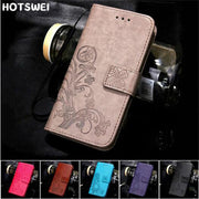 "Huawei P20 Lite Case On P20 Lite Ane-lx1 Case Flip 5.84"" Flower Pattern Leather Wallet Book Case For Huawei P20 P 20 Lite Cover"