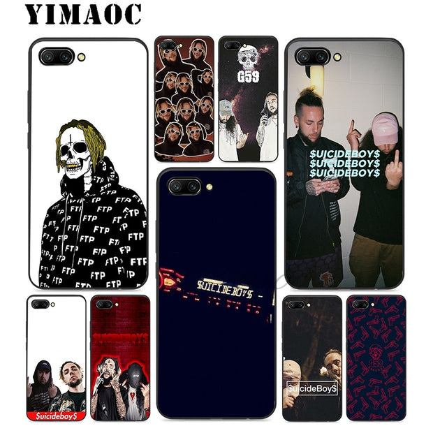 $uicideBoy$ SuicideBoys Soft Silicone Case For Huawei Honor Mate 10 P20 P10 P9 P8 P Smart Y6 6A 7A 7X 7C Lite Pro 2017 2018