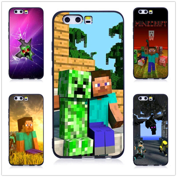 cover huawei p8 lite minecraft