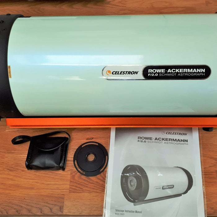 "Unboxing of the new Celestron 8"" Rowe Ackermann Schmidt Astrograph"
