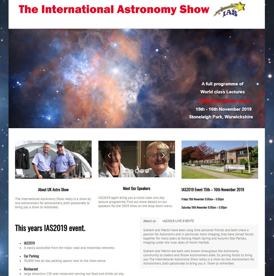 The International Astronomy Show 2019