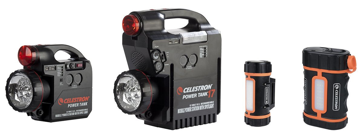 Powering your telescopes from a Celestron Power Tank