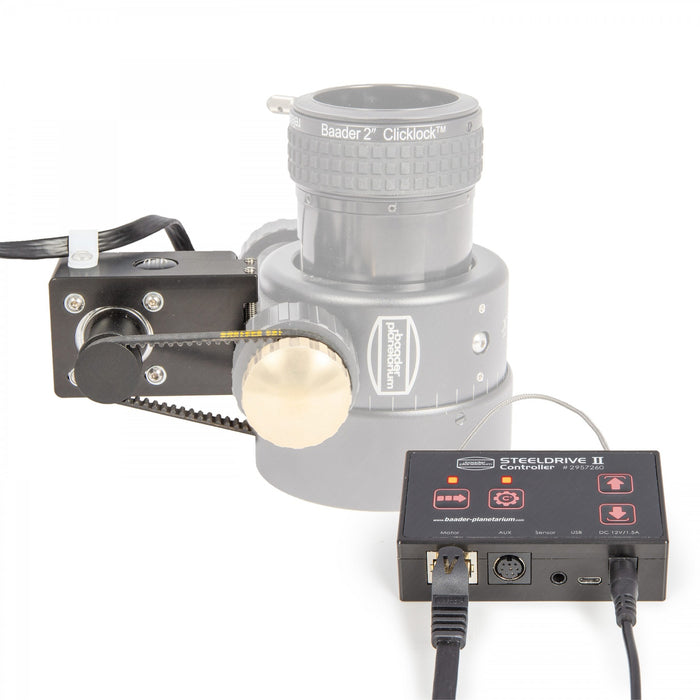 The Baader Steeldrive II Motor Focuser: Due soon
