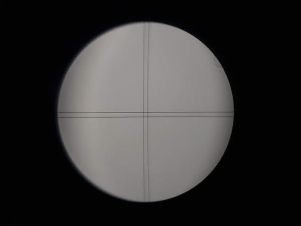 View through the CrossAim eyepiece