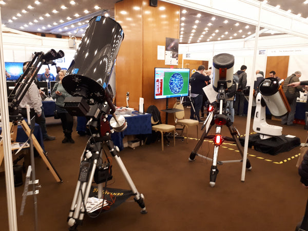Celestron CGX-L with other telescopes around it