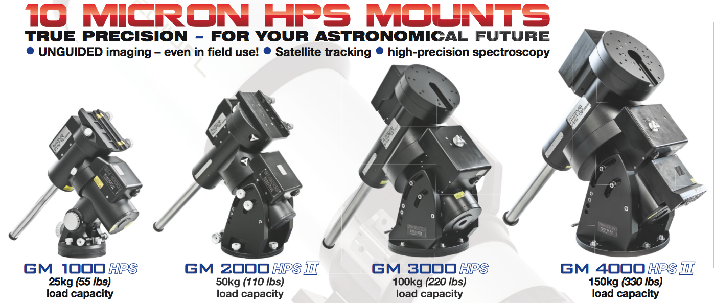 10Micron mounts side by side