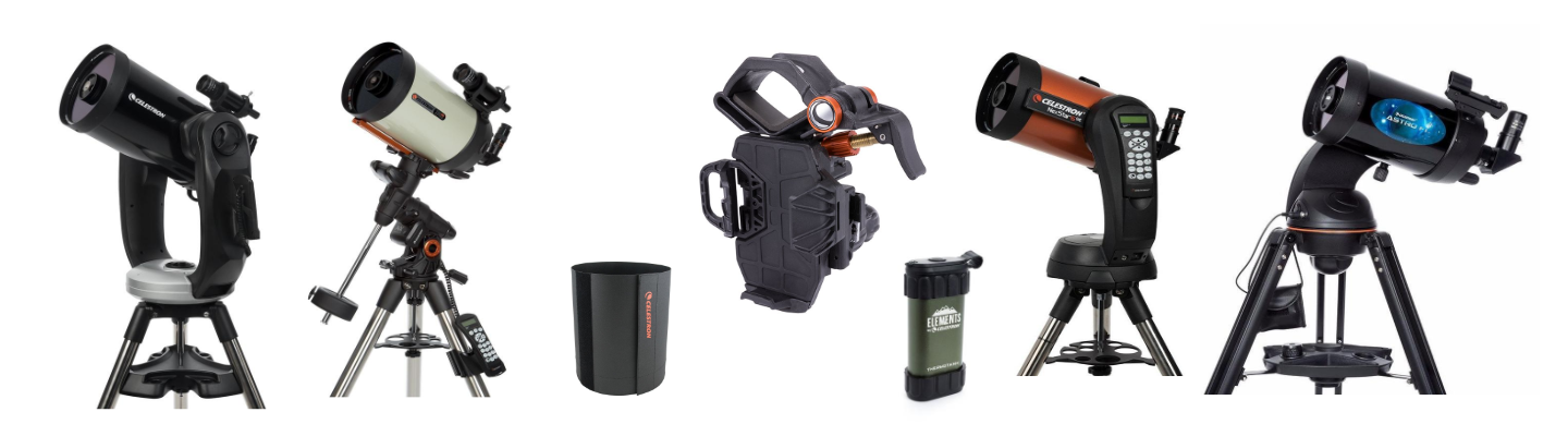 Offers till July on some Celestron Telescopes