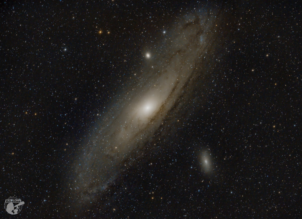 "M31 with a RASA 8"" taken by Stacey Downton"