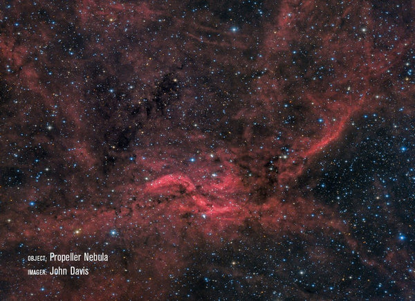 Propeller Nebula with RASA 11""