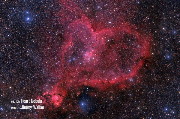 Heart Nebula with RASA 11""