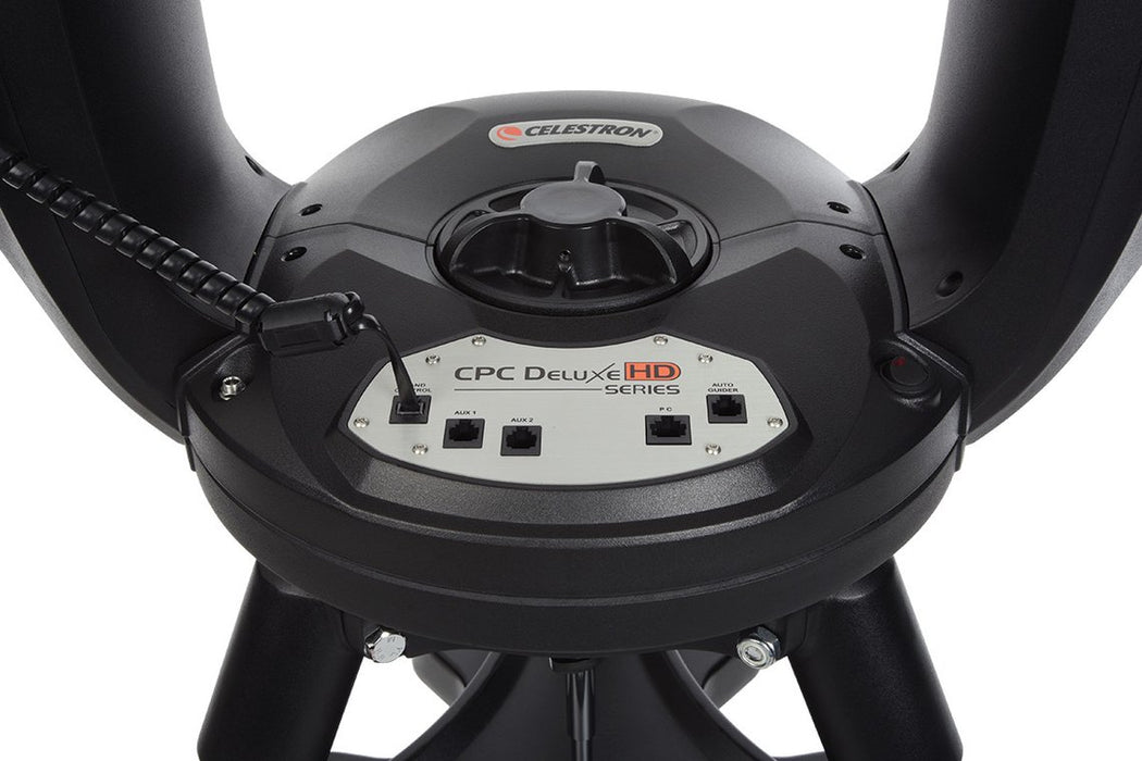 Celestron CPC Deluxe 800 HD Computerised Telescope - drive base