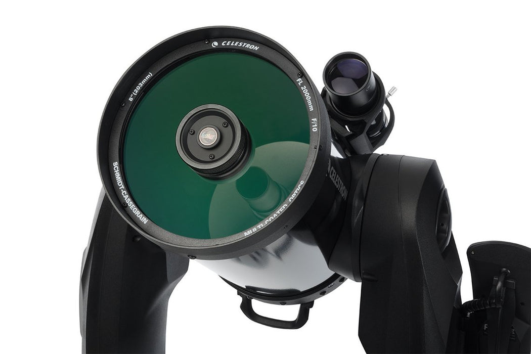 Celestron CPC 800 GPS (XLT) Computerised Telescope - view of the corrector plate
