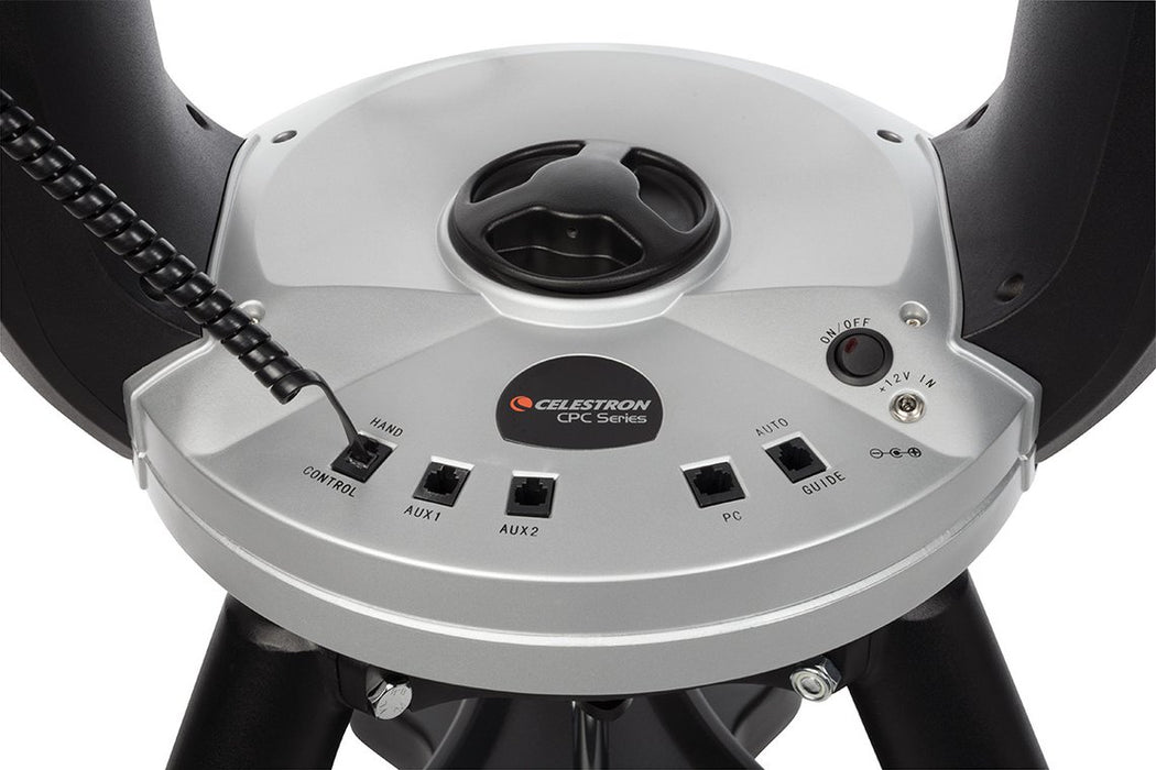 Celestron CPC 800 GPS (XLT) Computerised Telescope - drive base