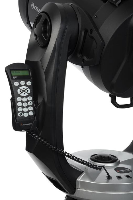 Celestron CPC 800 GPS (XLT) Computerised Telescope - handset and holder