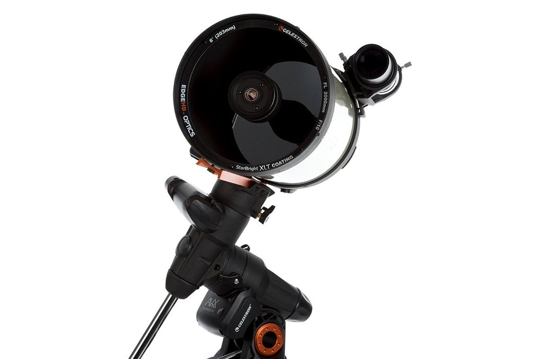 "Celestron Advanced VX 8"" EdgeHD Telescope - corrector plate view"