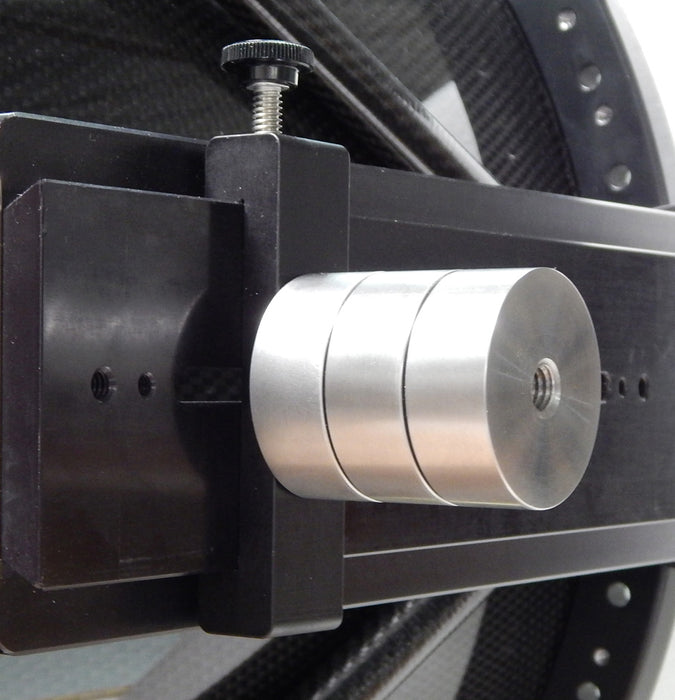 PlaneWave Counterweight Set attached to CDK12.5 Telescope