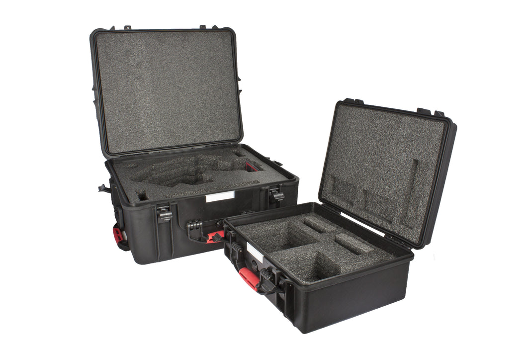 10Micron GM1000 storage and carry case open case interior view