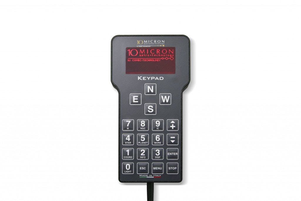 10Micron V2 Handset Keypad for GM Mounts