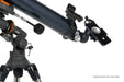 Celestron AstroMaster 80EQ-MD Refractor Telescope with Motor Drive and Smartphone Adaptor - showing smartphone adaptor