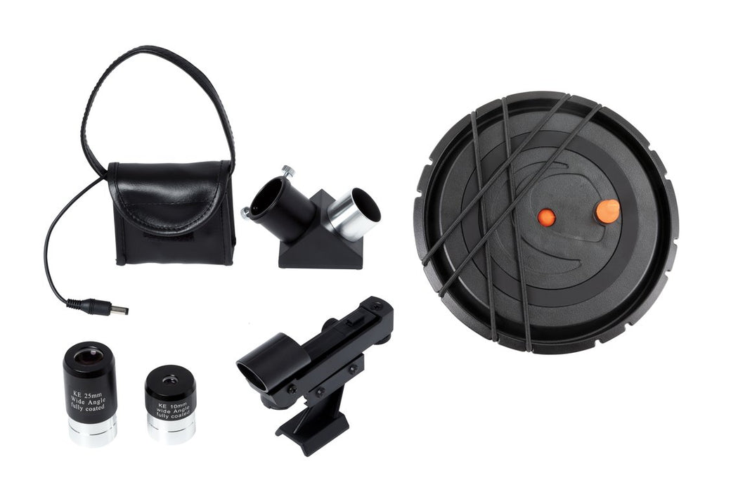 Celestron Astro Fi 102mm Maksutov-Cassegrain Telescope - included accessories