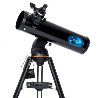 Celeston Astro Fi 130 Newtonian Telescope - Includes Free ThermoTrek & NexYZ Smartphone Adapter