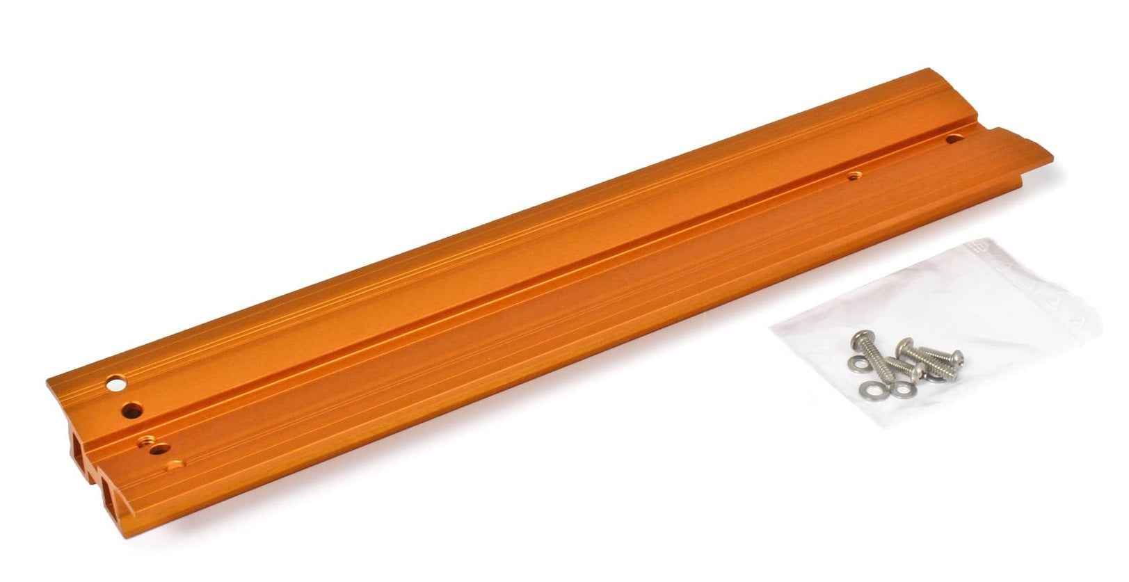 "Baader V-Dovetail Celestron - Orange Anodized, 345mm, drilled for Celestron 8"" SC / HD"