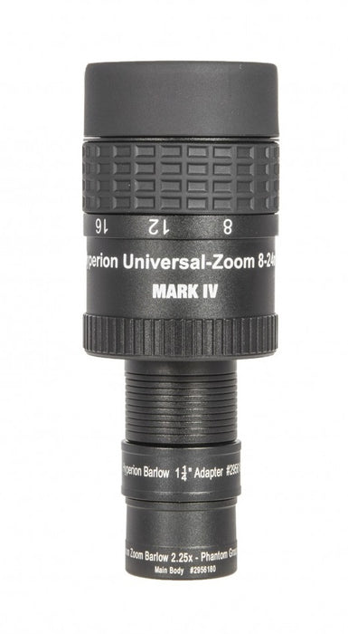 Bundle: Hyperion Universal Zoom Mark IV with Hyperion-Barlow 2.25x (8-24mm / 3.6-10.7mm)