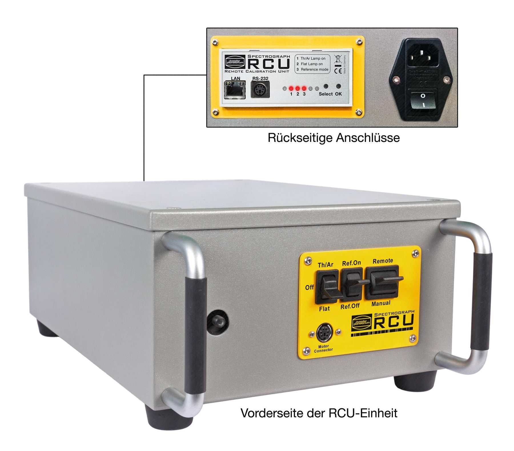Baches Rcu Remote Control Unit Calibration Set David Hinds Ltd Wiring Circuit Supplied With The