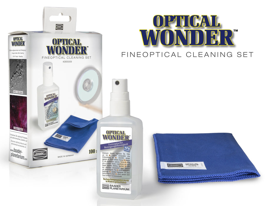 Baader Optical Wonder™ Set (Cleaning Fluid & Cloth)