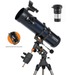 Celestron AstroMaster 130EQ Newtonian with Smartphone Adaptor & Barlow T-Adaptor