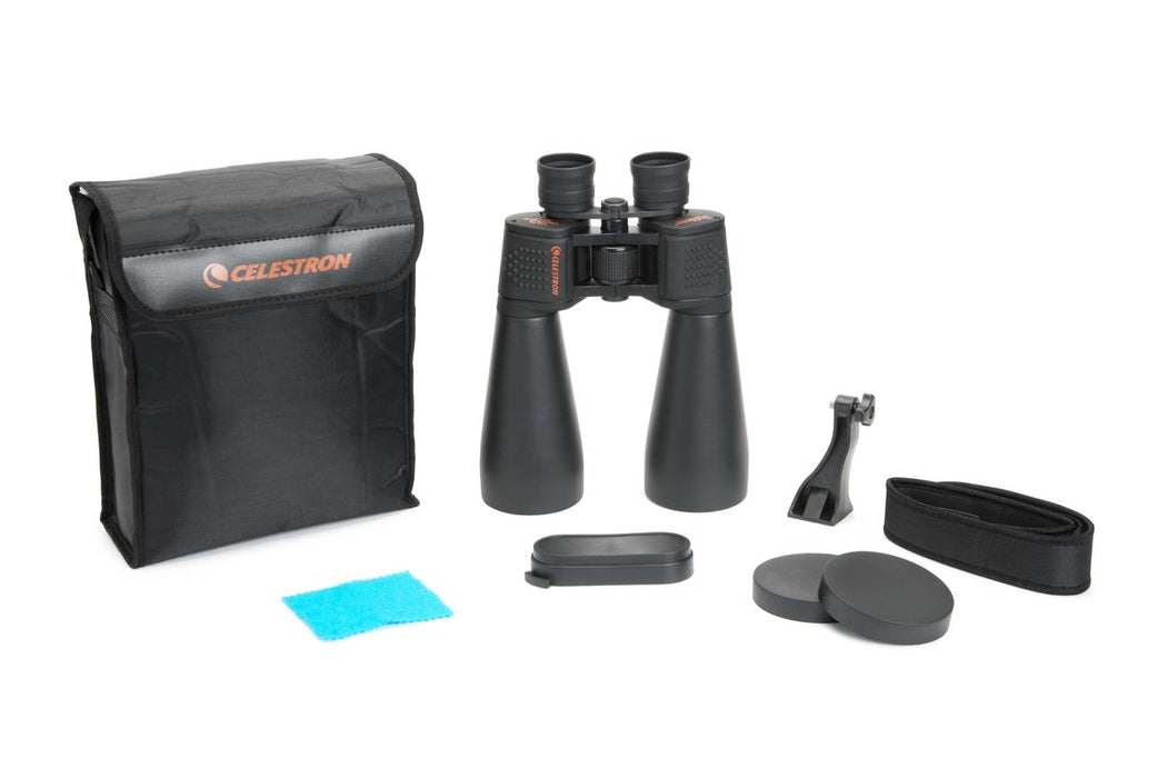 Celestron SkyMaster 15x70 Binocular - with supplied accessories
