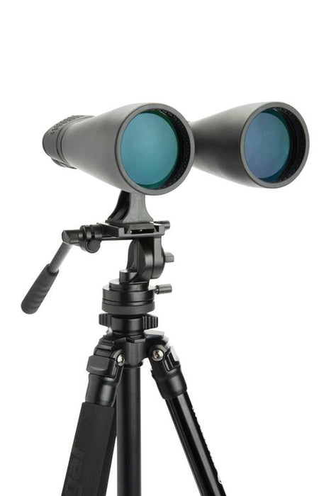 Celestron SkyMaster 15x70 Binocular - on user supplied tripod with supplied adaptor for mounting on a tripod