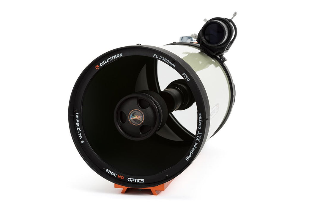 "Celestron EdgeHD 9.25"" Optical Tube Assembly - looking down the corrector to the primary"