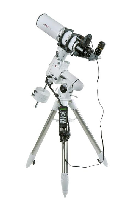 Celestron StarSense for SkyWatcher Mounts mounted o a refractor and GOTO EQ Mount