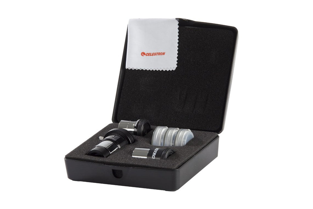 Celestron AstroMaster Accessory Kit - opened with accessories inside