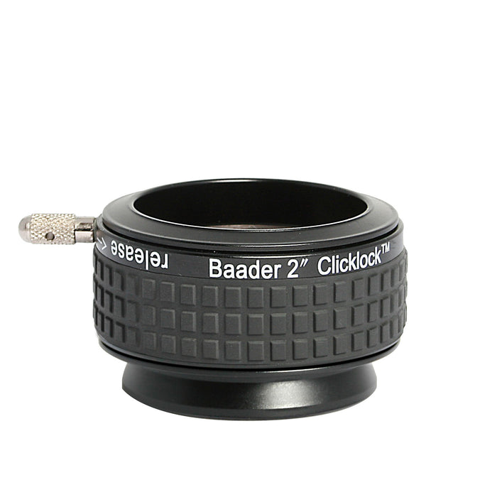 "Baader 2"" S57 ClickLock Clamp with Ring Dovetail Celestron / SkyWatcher Telescopes"