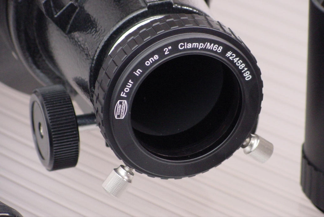 "Baader 2"" Four-in-One M68 (Zeiss) / 2.7"" (A.P.) / M60 (Vixen) / M56 (Synta) Adaptor  - example use"