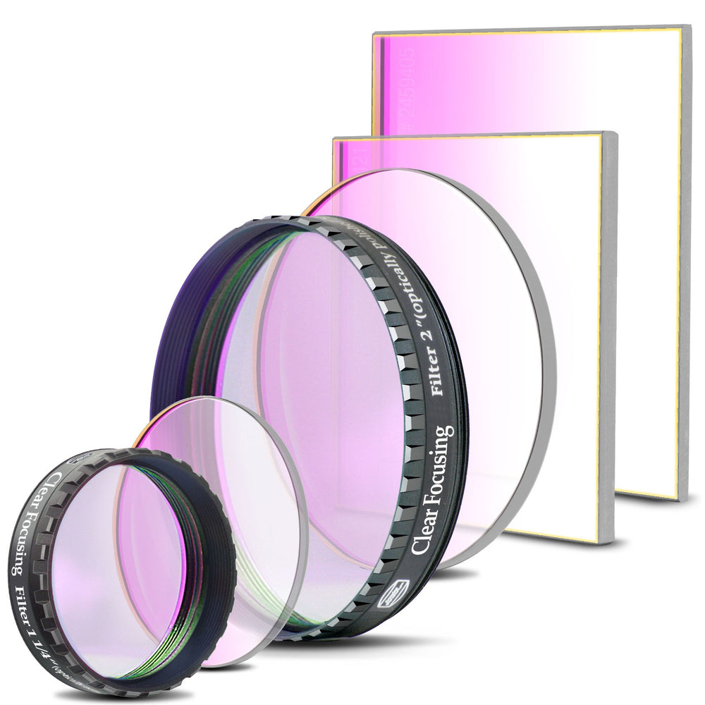 Baader Clear (C) Glass Filter for Focusing / Dust Protection