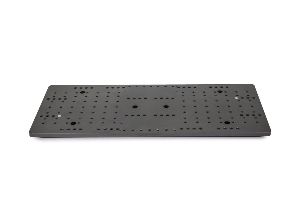 "Baader Heavy Duty 8"" Double Mounting Plate (for up to 100kg payloads) Top View"