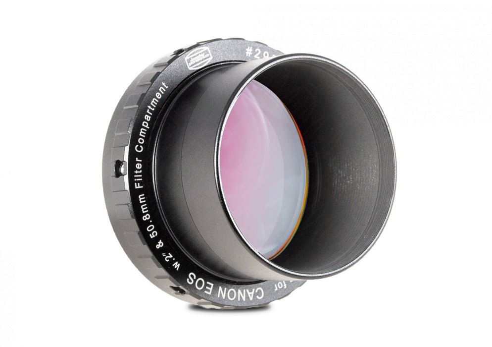 "Baader Zero-Tolerance Protective Canon DSLR T-2/M48 and 2"" T-Ring  - with UV/IR Blocker Filter"