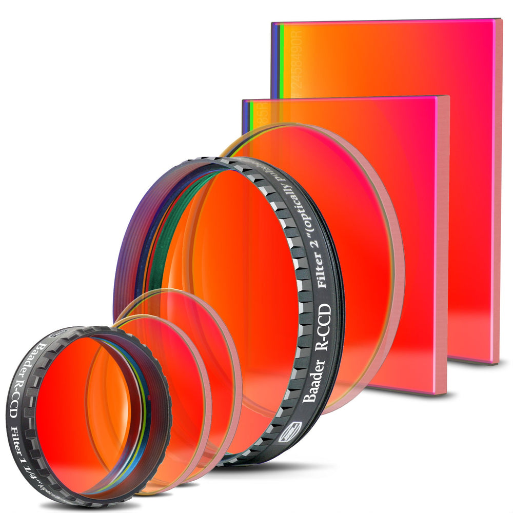 Baader RGB Filters (Individual) - RED