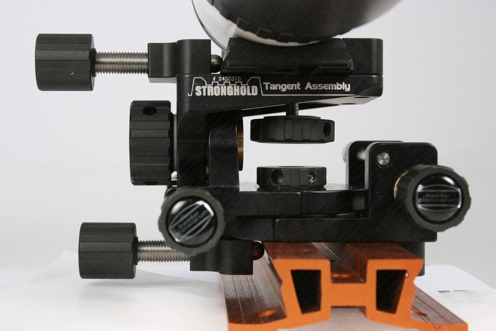 Additional Set of EQ-Clamp Brackets for the Baader Stronghold Tangent Assembly  - example use