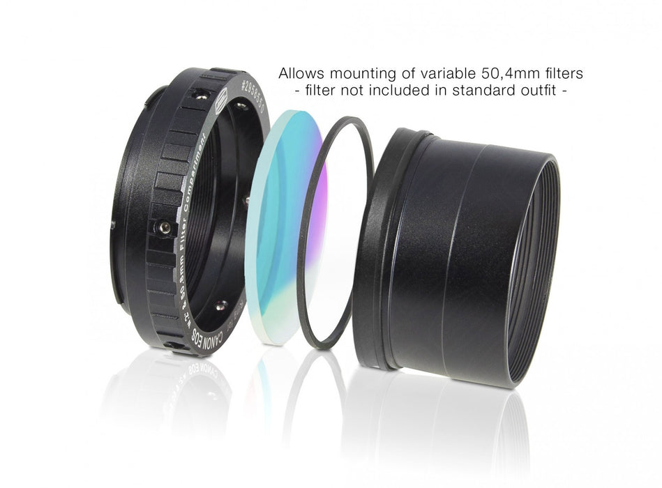 "Baader Zero-Tolerance Protective Canon DSLR T-2/M48 and 2"" T-Ring"